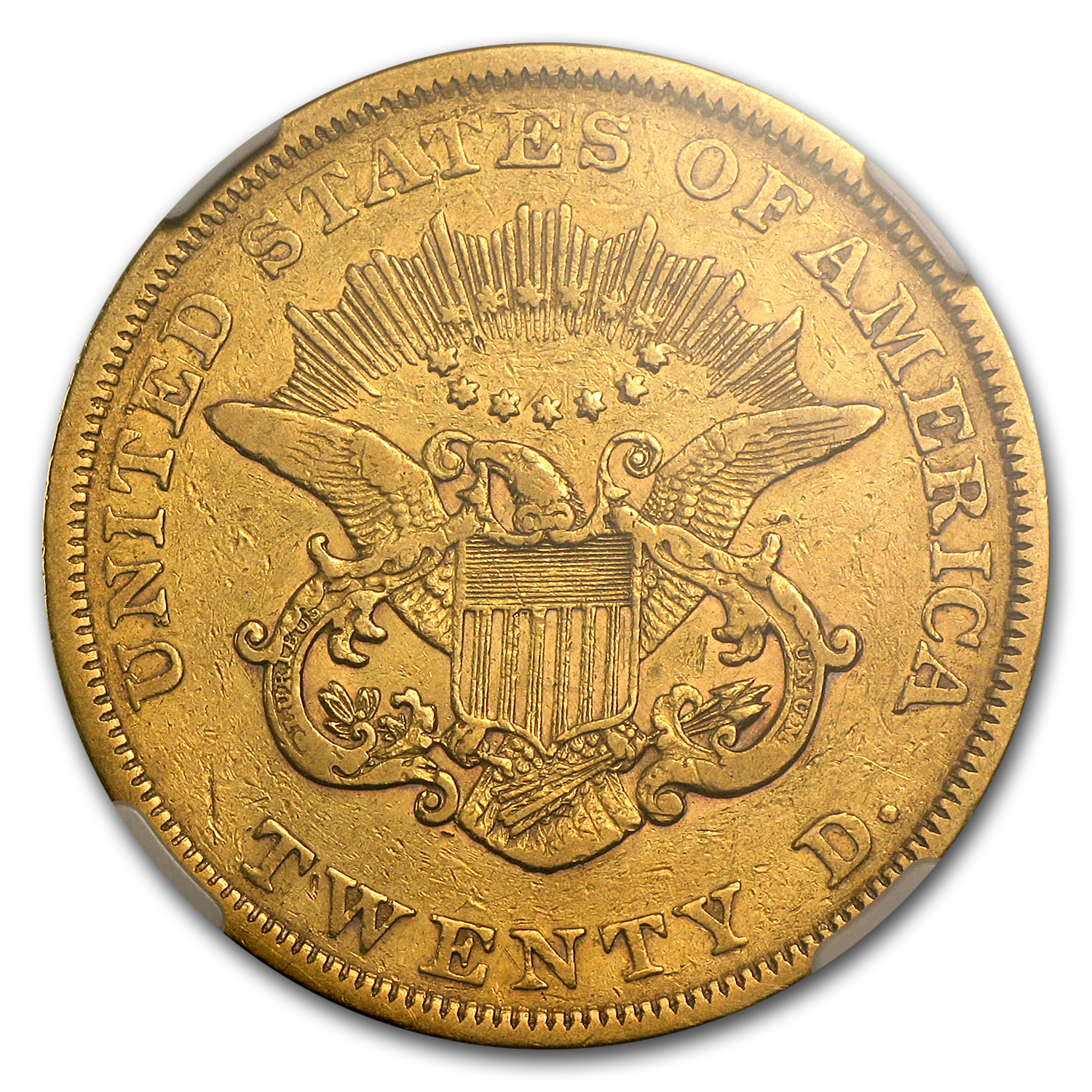 1851 $20 Gold Liberty Double Eagle - VF-25 NGC